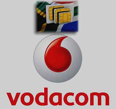 Vodacom South Africa SIM card for voice/data African