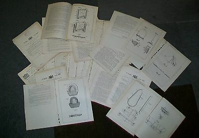 Horse Equipment Related Patent - Horseshoes Harness  Etc 1894-1939 (69)