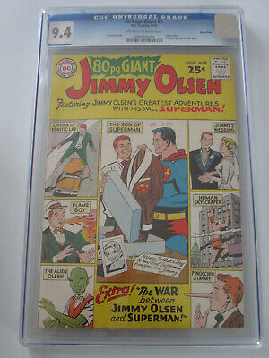 80 Page Giant #2 1964 CGC 9.4 OW/W Pages Green River Pedigree