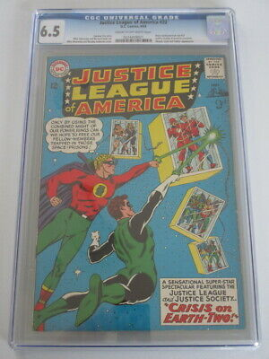 Justice League of America #22 1963 CGC 6.5 CR/OW Pages
