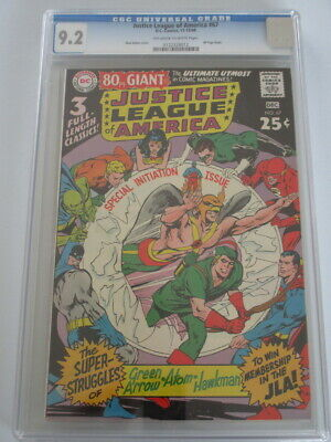 Justice League of America #67 1968 CGC 9.2 OW/W Pages