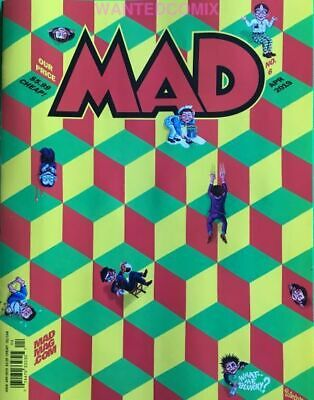 MAD MAGAZINE #5 FEB 2019 MERRY PO0PINS GOES TO TRUMP WHITE HOUSE SPY vs SPY NEW