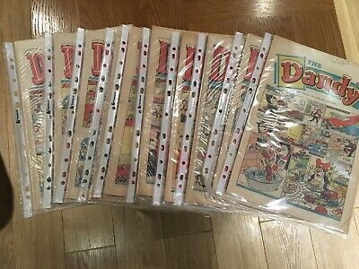 Complete Dandy Christmas Comic Collection 1970s