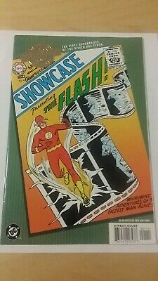 1st APPEARANCE OF THE FLASH IN SHOWCASE 4 : 2000: DC COMICS MILLENIUM EDITIONS