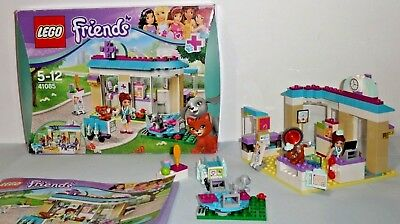Lego Friends 41085 Vet Clinic Complete With Instructions 1000