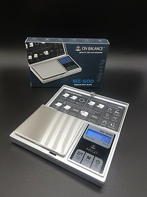 NEW 100 % GENUINE ON BALANCE MYCO MZ,600 SL SCALE 600g X 0.1g SCALE