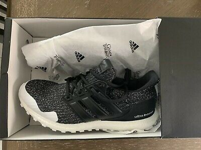 d886370006152 Adidas Ultra Boost x Game of Thrones Nights Watch Black White Mens EE3707