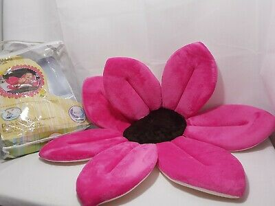 Genuine Pink Baby Blooming Bath Lotus Flower Sink Soft Baby Bath Gift Boy