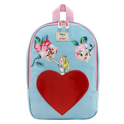 Cath Kidston - Disney Alice In Wonderland Backpack For Kids Sky Blue Brand New