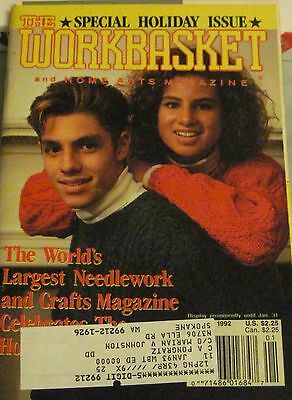 The Special Holiday Issue Workbasket Magazine Dec Jan 1992 No 2 Vol 57   p120