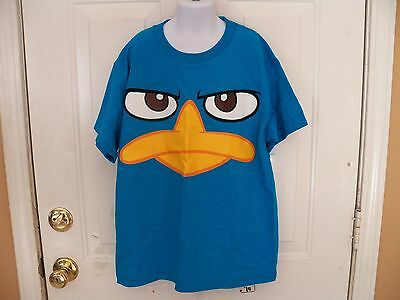 NEW PHINEAS /& FERB PERRY DICK TRACY KID KIDS M MEDIUM SIZE 7 T-SHIRT 67MK