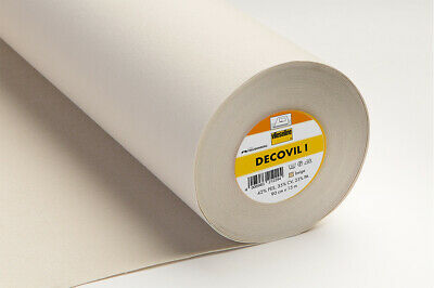 Vilene Decovil 1 Fusible Interlining With Leather-Like Handle 90cm Wide 15m ROLL