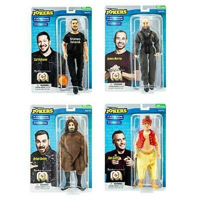"lot of IMPACTICAL JOKERS MEGO ACTION FIGURE 8""- GATTO - MURRAY - VULCANO - QUINN"