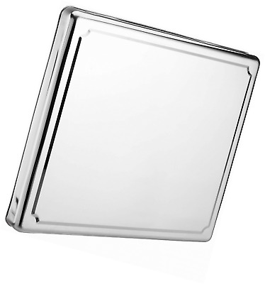 JOCCA 6414 Stainless Steel Hob Cover Protector Silver 60.5 x 52.5 x 5.5 cm