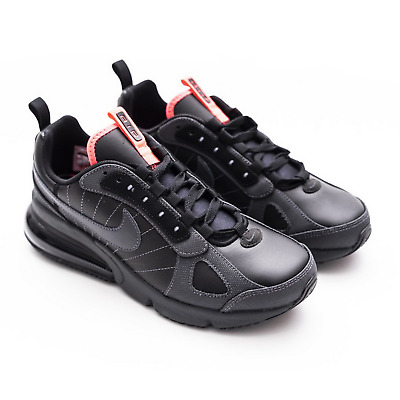 NIKE LEGEND BLACK Solar Red Leather WOMENS Neon NEW $59.95