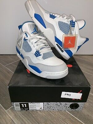 wholesale dealer e4902 876b3 Air Jordan Retro 4 IV Military Blue 2012 Size 11 XI vii ix Basketball