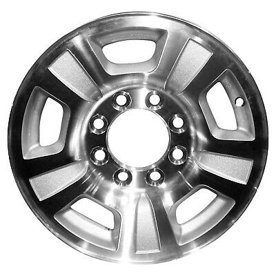 17 X 7 5 5 Hole Oem Mercedes Alloy Wheel Machined Lip Silver Face
