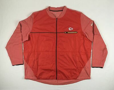 new style 39bf4 34a0c NEW NIKE KANSAS City Chiefs - Red Poly Jacket (4XL)