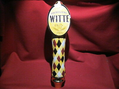 Brewery Ommegang Witte Wheat Ale Beer Tap Handle