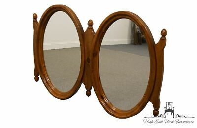 """LINK TAYLOR Solid Colonial Pine Rustic Country 38x58"""" Dresser / Wall Mirror 8..."""