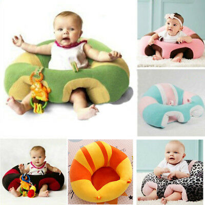 Toy Bean Bag Kids Baby Support Seat Sit Up Soft Chair Cushion Sofa Plush Pillow