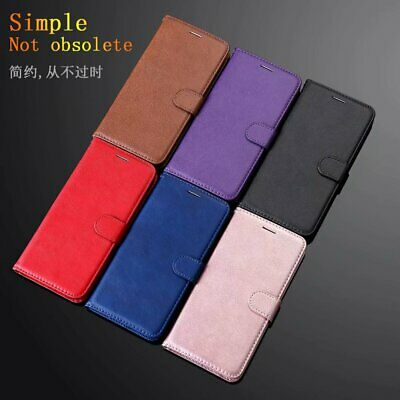 For Samsung Galaxy J3 J5 J7 J4 J6 Plus Luxury Flip Stand Card Leather Case Cover