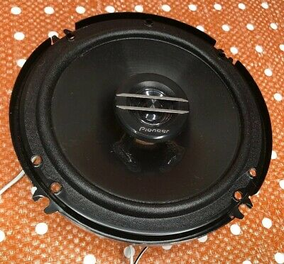 1 Used Pioneer TS-G1620F 600W Max 80W RMS 6.5 G-Series 2-Way Coaxial Car Speaker