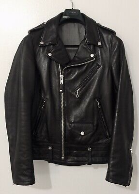 [New With Tag] Schott Nyc Usa 525 Pebbled Cowhide Leather Perfecto Small Black