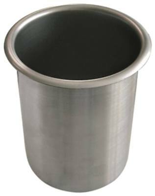 Tray for Bain-Marie round Ø 165mm Height 194mm Stainless Steel