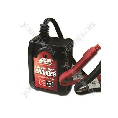 Maypole Automatic Trickle Battery Charger - 0.5A - 12V