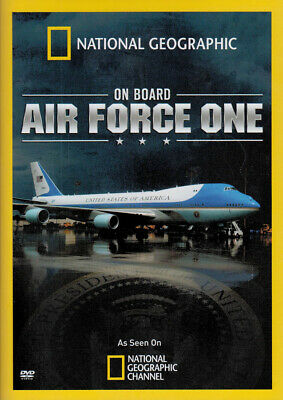 On Board Air Force One (National Geographic) Nuovo DVD
