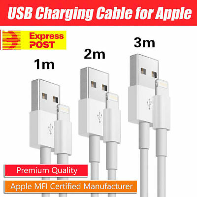 1m 2m 3m USB Lightning Data Charging Cable for Genuine Apple iPhone 6 7 8 XR XSM