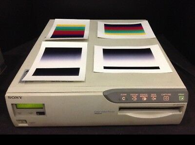 Sony Up-5600Md Color Video Medical Printer Remote Media Manual 60 Day Warranty