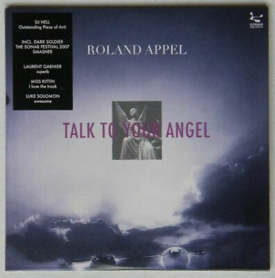 Roland Appel - Talk To Your Angel 2008 Adv CD Cardcover House Minimal