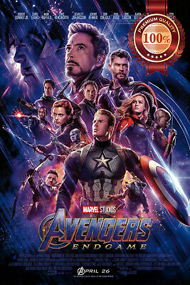 New Avengers Endgame Official Original Cinema Movie Film Print Premium Poster