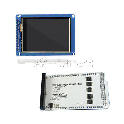 "3.2"" TFT LCD Display+Mega Touch LCD Shield Expansion Board+SD Card for Arduino"