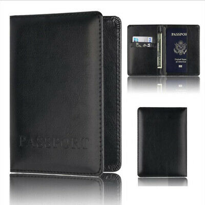 Travel Passport Holder ID Card Case Cover Credit Organizer Protector