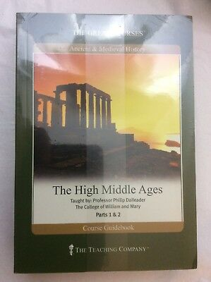 The Great Courses, The High Middle Ages, Course Book & 4 DVD's, Brand New Sealed