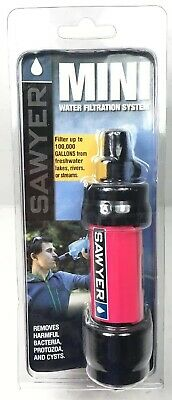 Sawyer SP102 Mini Water Filtration System Pink New