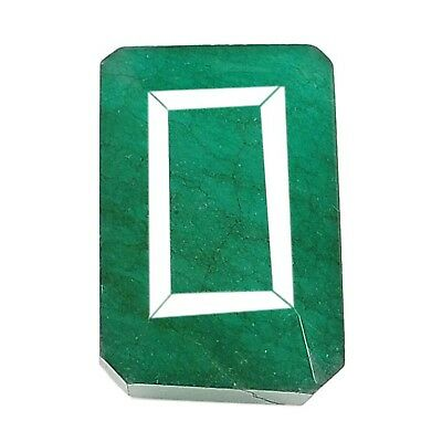 Natural Brazilian Green Emerald 119.20Ct Octagon Shape Top Demand Loose Gemstone