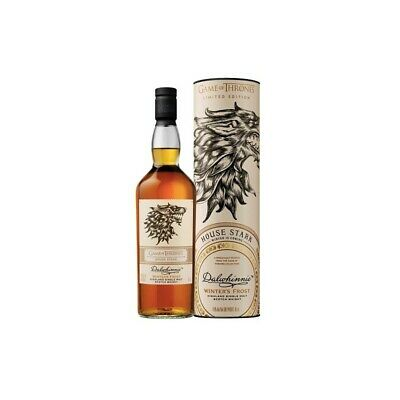 House Stark Dalwhinnie Winter's Frost Game of Thrones Single Malts Collection
