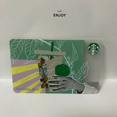 Starbucks 2019 China Spring Is Blossoming SR Kits Used Card Pin Uncovered