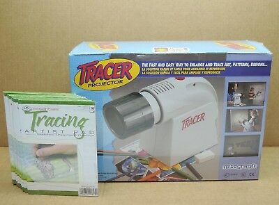 New Artogragh Tracer Projector Enlarger 225-360 Pattern Designs Art Crafts Bonus