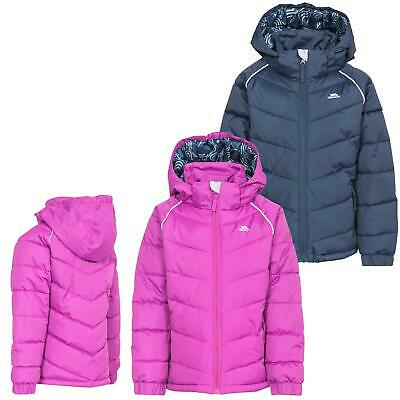 Trespass 'Sheer' Girls 2000mm Waterproof Padded Jacket Quilted Raincoat