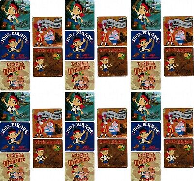 UPD Jake and Neverland Pirates 9 Roll Sticker Box with 200 Stickers 21754MZ