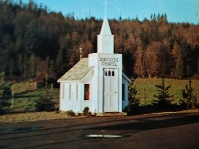 vintage photo POST CARD THE WAYSIDE CHAPEL MONROE WASHINGTON