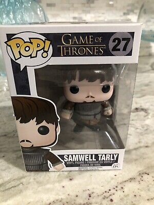 Funko Pop!  Game Of Thrones Samwell Tarly #27 Vaulted/Retired W/ Pop Protector