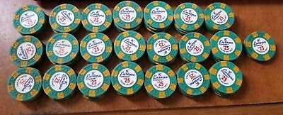 Europa Cruises $25 Casino cruise poker chip chips