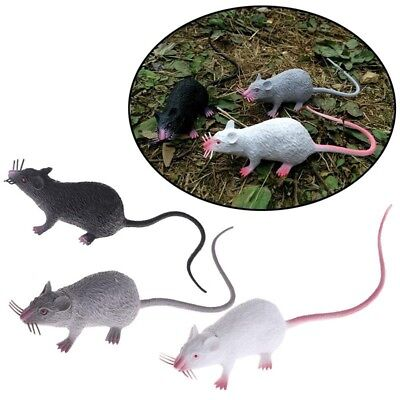 Fake Lifelike Mouse Model Prop Halloween Gift Toy Party April Fool's Day Decor