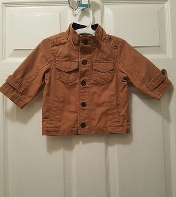 2658e8789851 NWT BURBERRY BABY Boys Military Red Down Jacket 12 Months -  209.00 ...